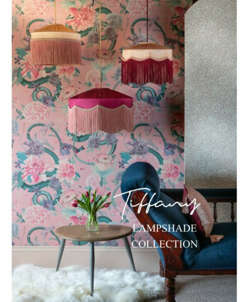 Tiffany Lampshade Collection Pink